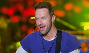 Coldplay's Chris Martin … He's just been told it's going to be tiramisu for dessert at the Brits dinner.
