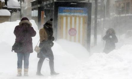 Boston snow