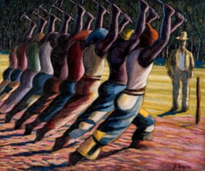 Song of the Pick by Gerard Sekoto, part of South Africa: The Art of a Nation.