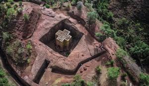 Church of Saint George, Lalibela, Ethiopia, 1200s. Picture credit: © Ryan Doyle/Video Vision 360