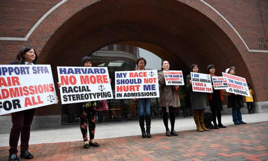 In October, Harvard was taken to federal district court for allegedly discriminating against Asian Americans.
