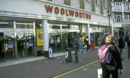 A Woolworths in Kingston upon Thames in 1995