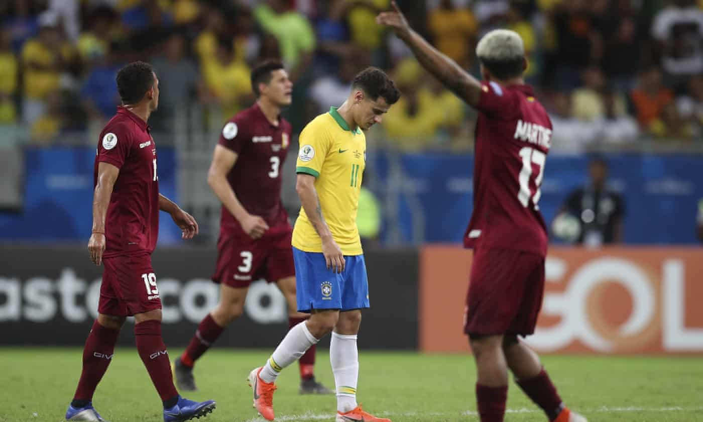 Brazil frustrated by VAR in Copa América draw with Venezuela