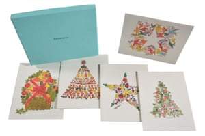 A very Warhol Christmas … a Tiffany box of lithographed cards from 1960.