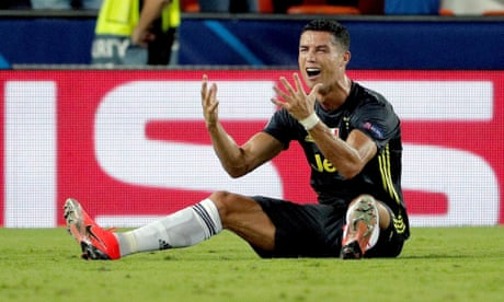 Cristiano Ronaldo set for one-game ban, clearing him to face Manchester United
