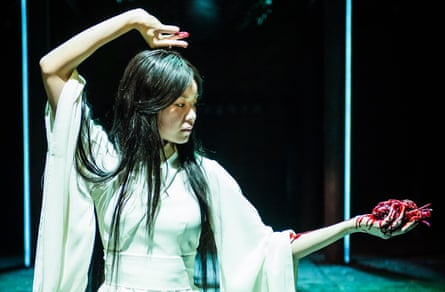 Supernatural retribution … Katie Leung as Dou Yi in Snow in Midsummer.