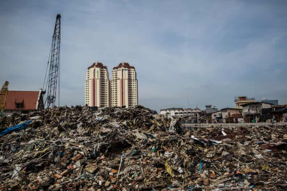 A neighbourhood razed by the government in an effort to revitalise the city's rivers.