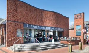 St Barbe Museum and Art Gallery in Lymington, Hampshire,