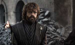 Peter Dinklage as Tyrion Lannister in the eighth season of Game of Thrones.