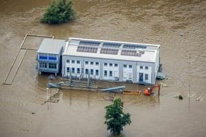 The Ruhr floods in Stiepel