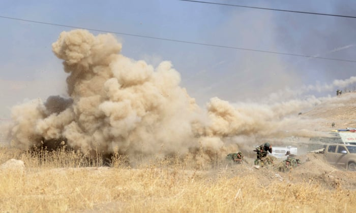 Anyone Who Flees Is Shot Dead Mosul Locals Trapped As Isis