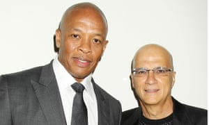 Defiant ones: Dr Dre and Jimmy Iovine