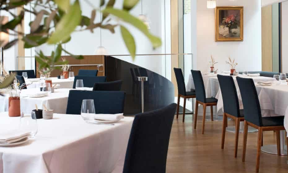 The fine art of Italian dining: the light-filled dining room at Emilia.