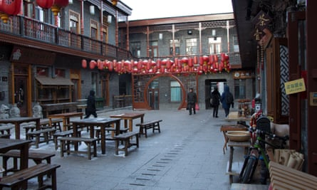 """In Lao Daowai, Harbin, old residences have been demolished and replaced with remakes in the """"Chinese-baroque"""" style."""