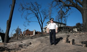 Fire commissioner Shane Fitzsimmons