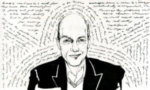 Alain de Botton … Illustration by Alan Vest.
