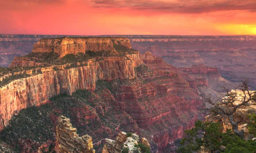 Digging deep: the Grand Canyon, one of 59 national parks in America.