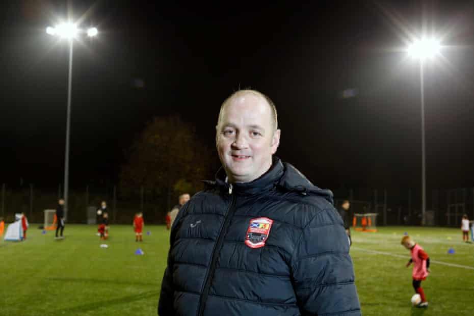 Scott Bland, Drumchapel United club secretary.