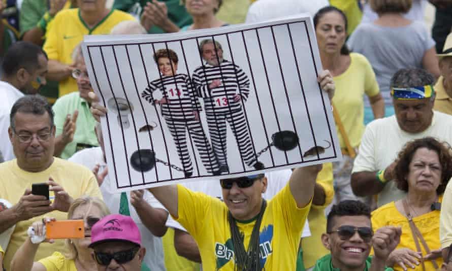 Anti-Rousseff protest, Rio
