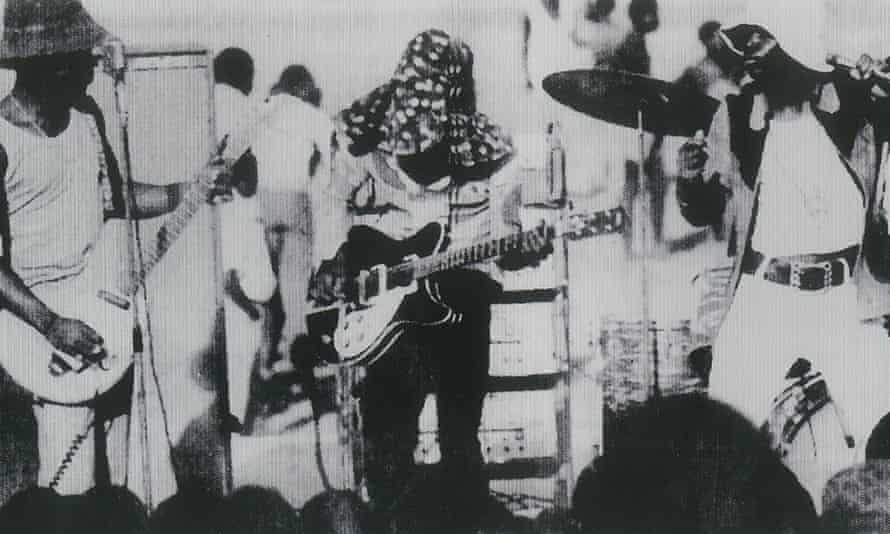 Witch performing in the 1970s.