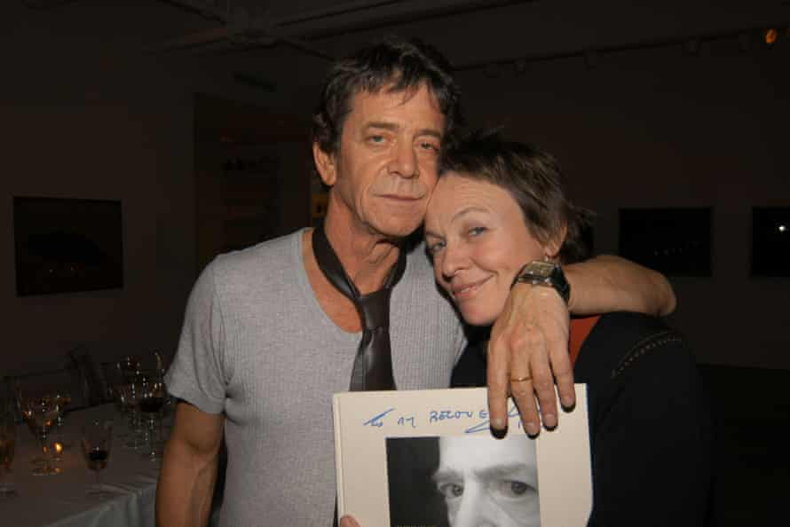 Lou Reed and Laurie Anderson in 2005