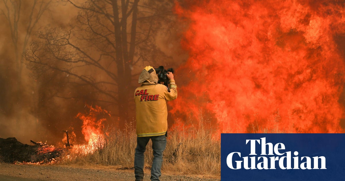 Most wildfire coverage on American TV news fails to mention link to climate crisis
