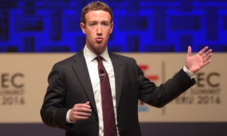 Mark Zuckerberg: an 'astonishing blend of high intelligence, naivety and hubris'.