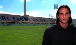 Nuno Gomes is shown around his new home.
