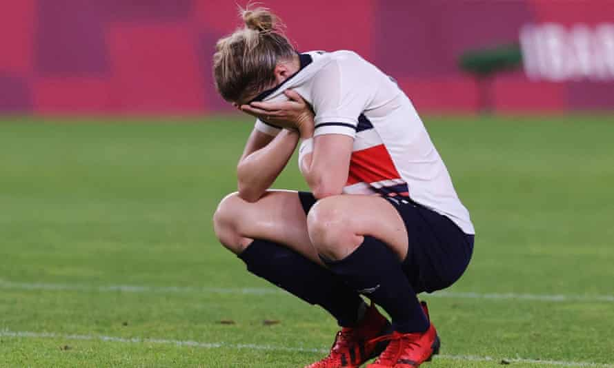 Ellen White reflects on Team GB's 4-3 defeat by Australia in the Olympic quarter-finals. The striker scored a hat-trick.