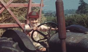 Haymaking in Trebetten, Cowbridge, 1949, featured in BFI's Britain on Film project.