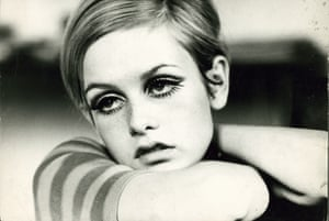 Twiggy photographed in 1966