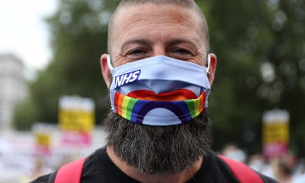 The vast majority of Britons are compliant with wearing masks.