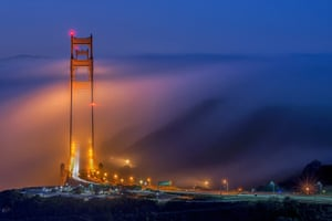 Golden Bridge Alignment by Jay Huang, United States