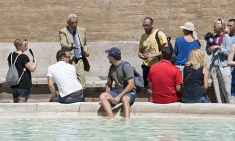 When in Rome, don't dress as a centurion, say city authorities