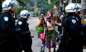 Toronto's G20 summit made headlines around the world for the dozens of anarchists who broke away from the largely peaceful anti-globalisation demonstrations to torch cars and smash store windows.