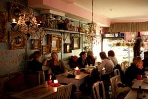 Coffee house in Gothenburg, Sweden