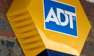 Fault in ADT burglar alarm left our rental property