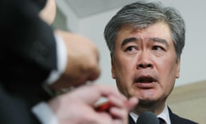 Junichi Fukuda, the top bureaucrat at Japan's finance ministry, has quit following allegations he sexually harassed female reporters, which he denies.