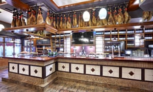 El Bar vista de barra, La Viña del Ensanche, Bilbao