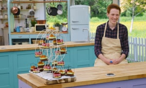 Andrew's ice-cream mousse cakes were served up on a miniature ferris wheel … Tom's hipster picnic didn't stand a chance.