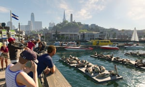 The game features a beautifully rendered approximation of San Francisco, including tourist traps such as Fisherman's Wharf.
