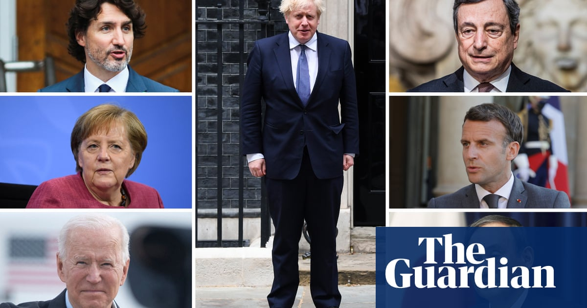 G7 leaders in the UK: what are their agendas?