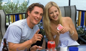 Matthew McConaughey in How To Lose A Guy In 10 Days with Kate Hudson.