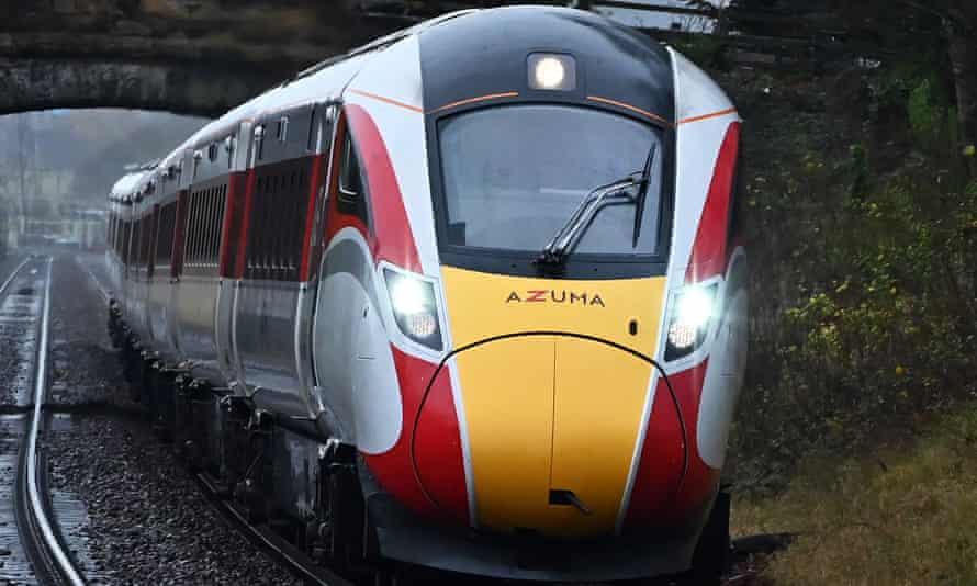 An LNER England to Scotland train.