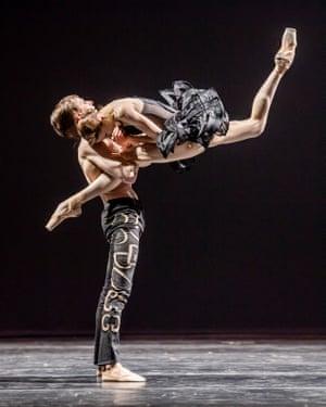 Denis Savin and Svetlana Zakharova in Come Un Respiro at London Coliseum.