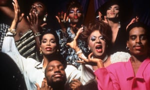 A shot from Paris Is Burning.