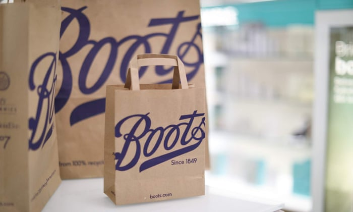 ccee66271e2c7f Boots to ban plastic bags and switch to brown paper carriers | Business |  The Guardian