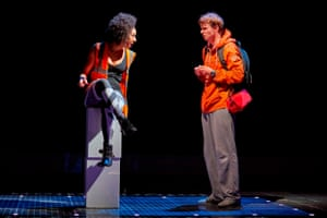 Stage presence: in The Curious Incident of the Dog in the Night-Time.