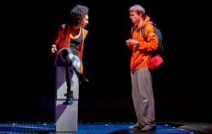 In combat … Mackie in The Curious Incident of the Dog in the Night-Time.