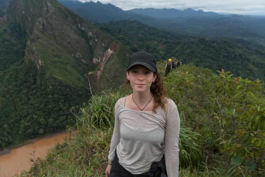 Director Elizabeth Unger in Bolivia's Madidi national park